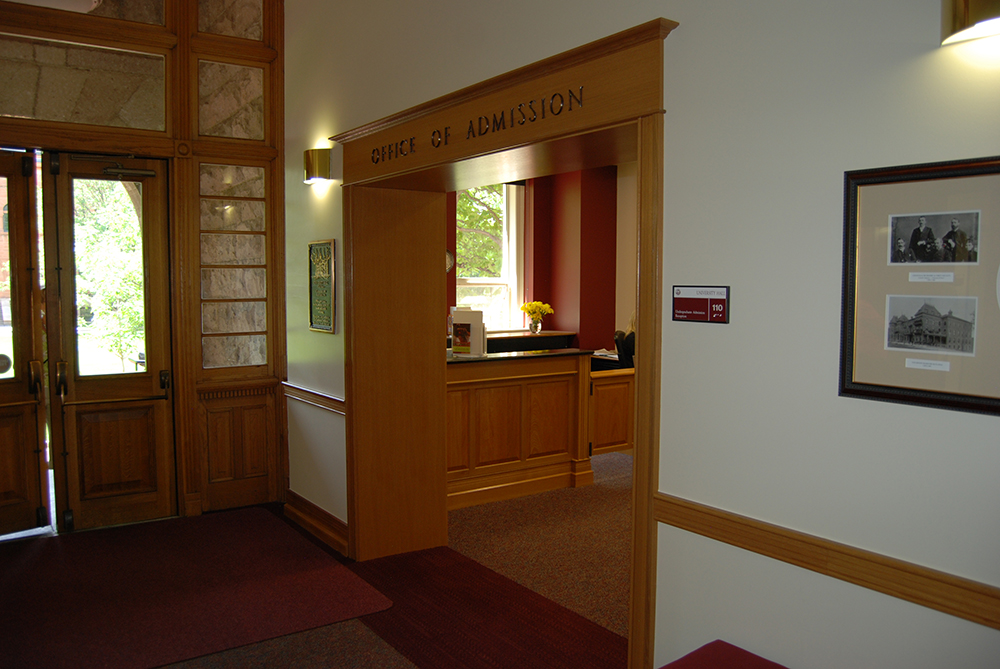 University of Denver:  University Hall Admissions Office